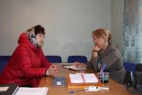 Прием граждан Шагаповой Р.А. на избирательном участке