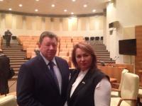 Руфина Шагапова приняла участие в заседании Высшего экологического совета Госдумы